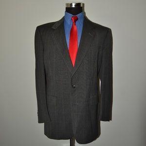 Austin Reed 42L Sport Coat Blazer Suit Jacket Gray